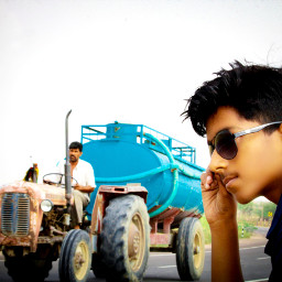 happy_sharma_editing_and_photography photography moment tractor naturephotography
