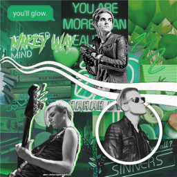 mikeyway mikey way green mcr freetoedit