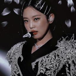 post kimjennie kpop aesthetic blink