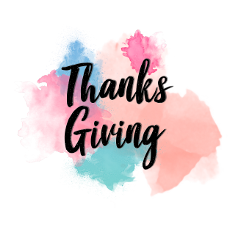 ftestickers watercolor text typography thanksgiving freetoedit