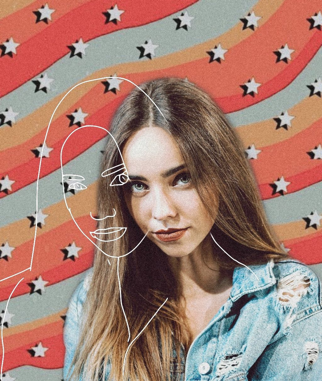 Bring Fall colors to your photos while still keeping your 𝙖𝙚𝙨𝙩𝙝𝙚𝙩𝙞𝙘 😎👌 Edit by @grace252 #aesthethic #stars #wavy #sketch #freetoedit