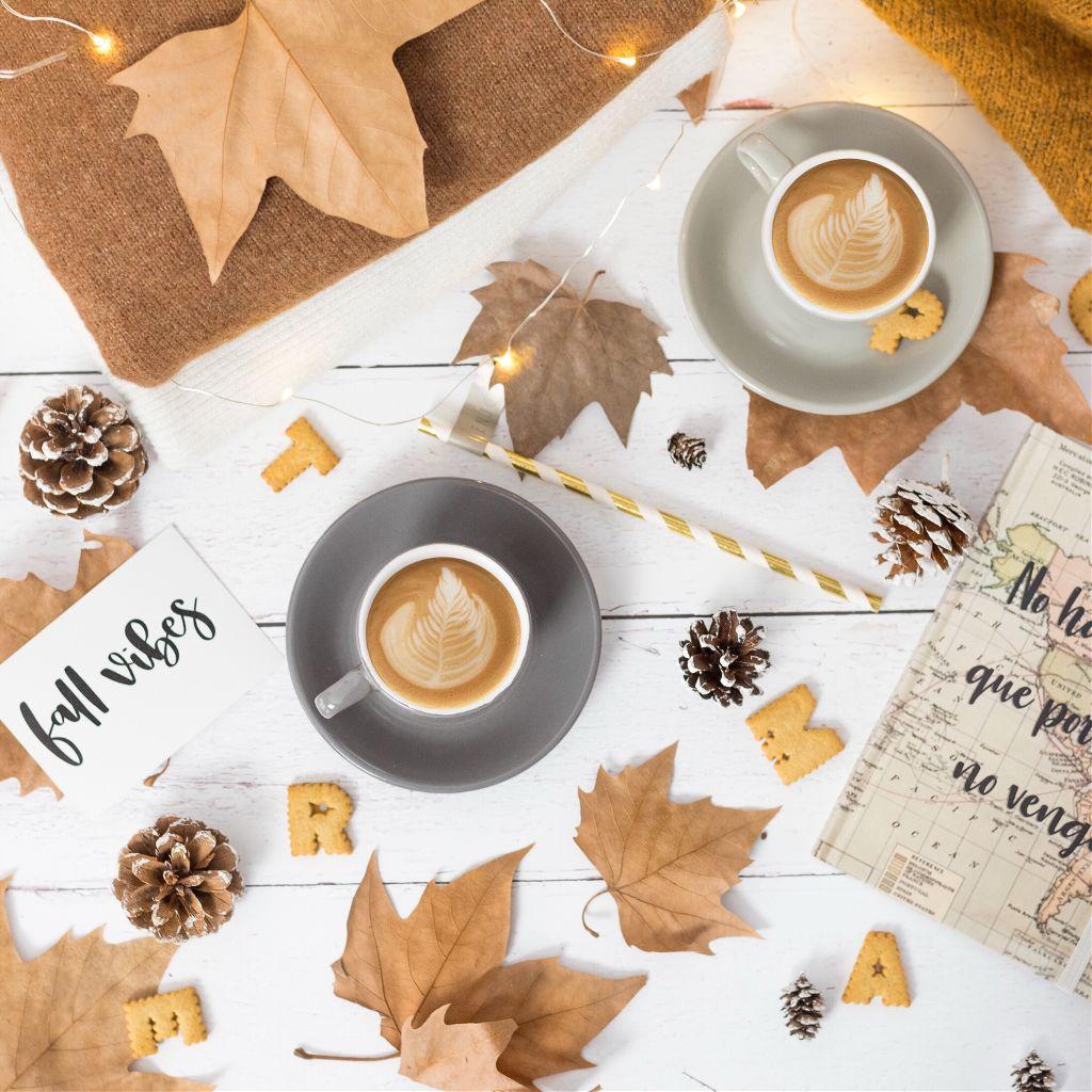 Autumn coffee 😋 #freetoedit