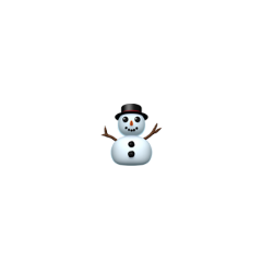 snowman snow winter cold weather freetoedit