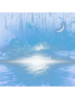 ftestickers sky clouds moon crescent freetoedit