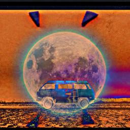 freetoedit orange van desert ircvintagevan
