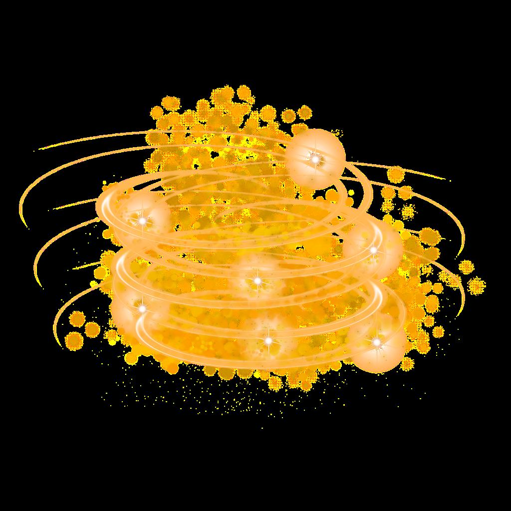 #ftestickers #swirl #stars #starlight #luminous #gold #golden