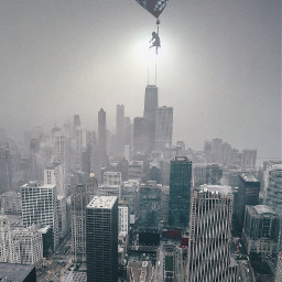 freetoedit fantasy art city fog