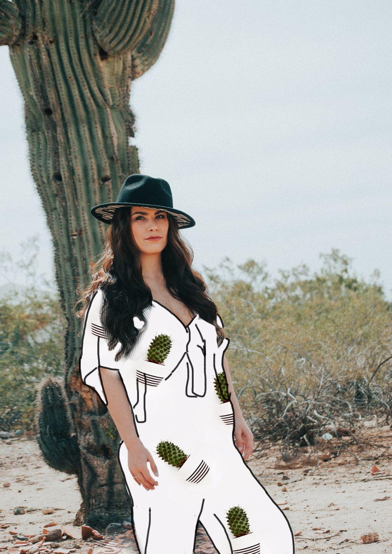 #freetoedit #cactus #girl #dessert