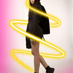freetoedit neon spiral