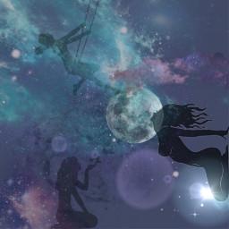 freetoedit moongirl