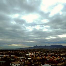 cloudyday november home view horizon