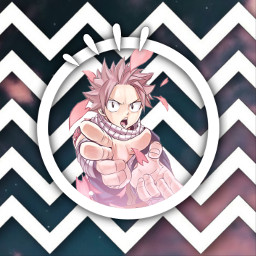 freetoedit natsu anime fairytail