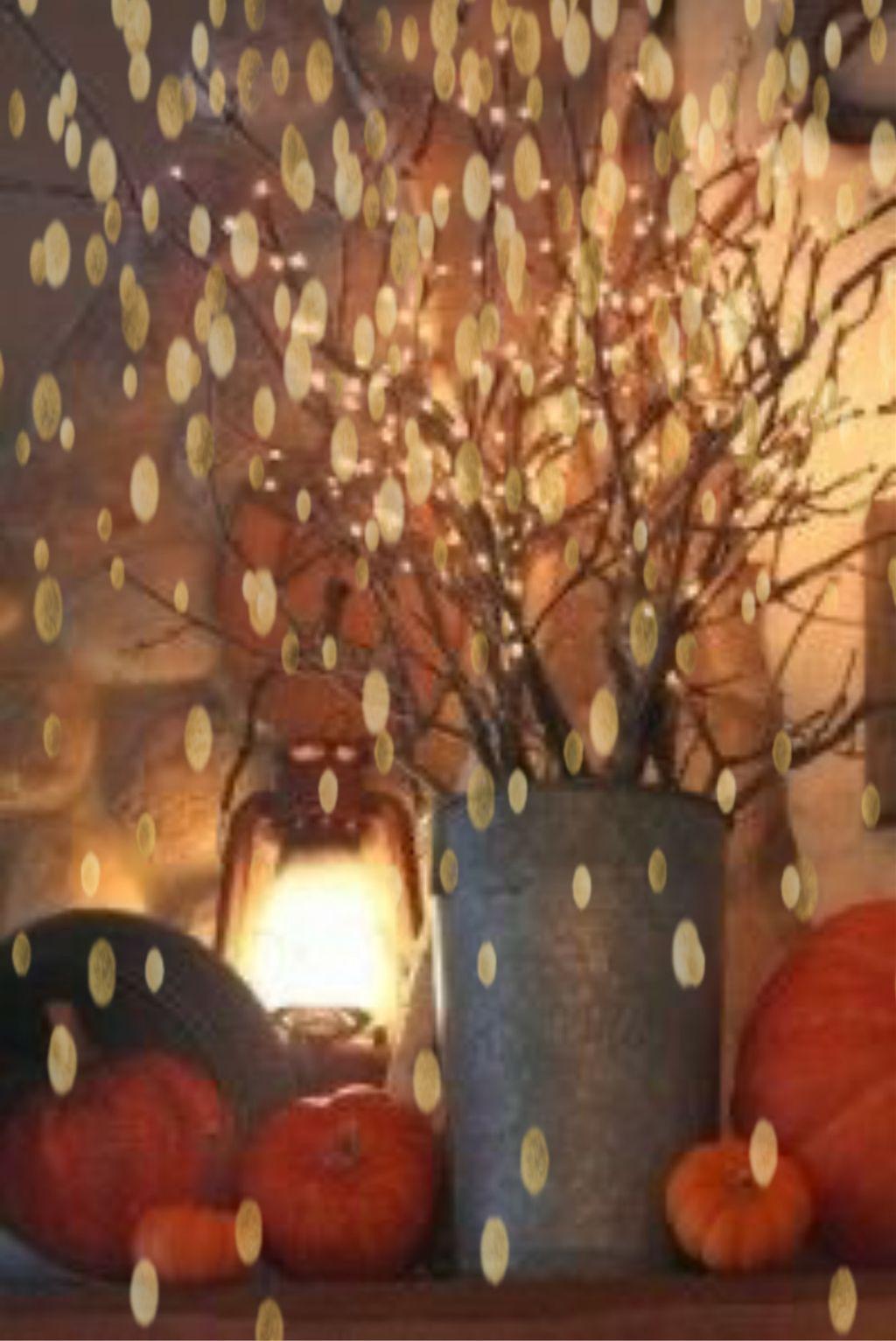 #freetoedit #leaves #pumpkins #fall #autumn #beautiful #lights #remixit