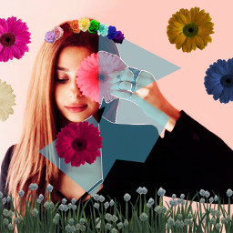 freetoedit sketcheffect sketcheffect4 flowers woman ircgirlwithaflower girlwithaflower