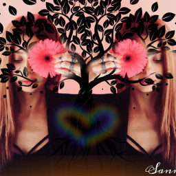 freetoedit girl flower tree growth ircgirlwithaflower