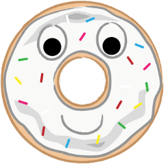 donut smile cute freetoedit