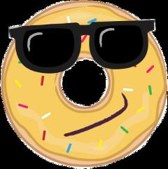 donut shades cute freetoedit