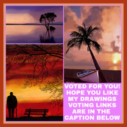 freetoedit voted pleasevote collage painting