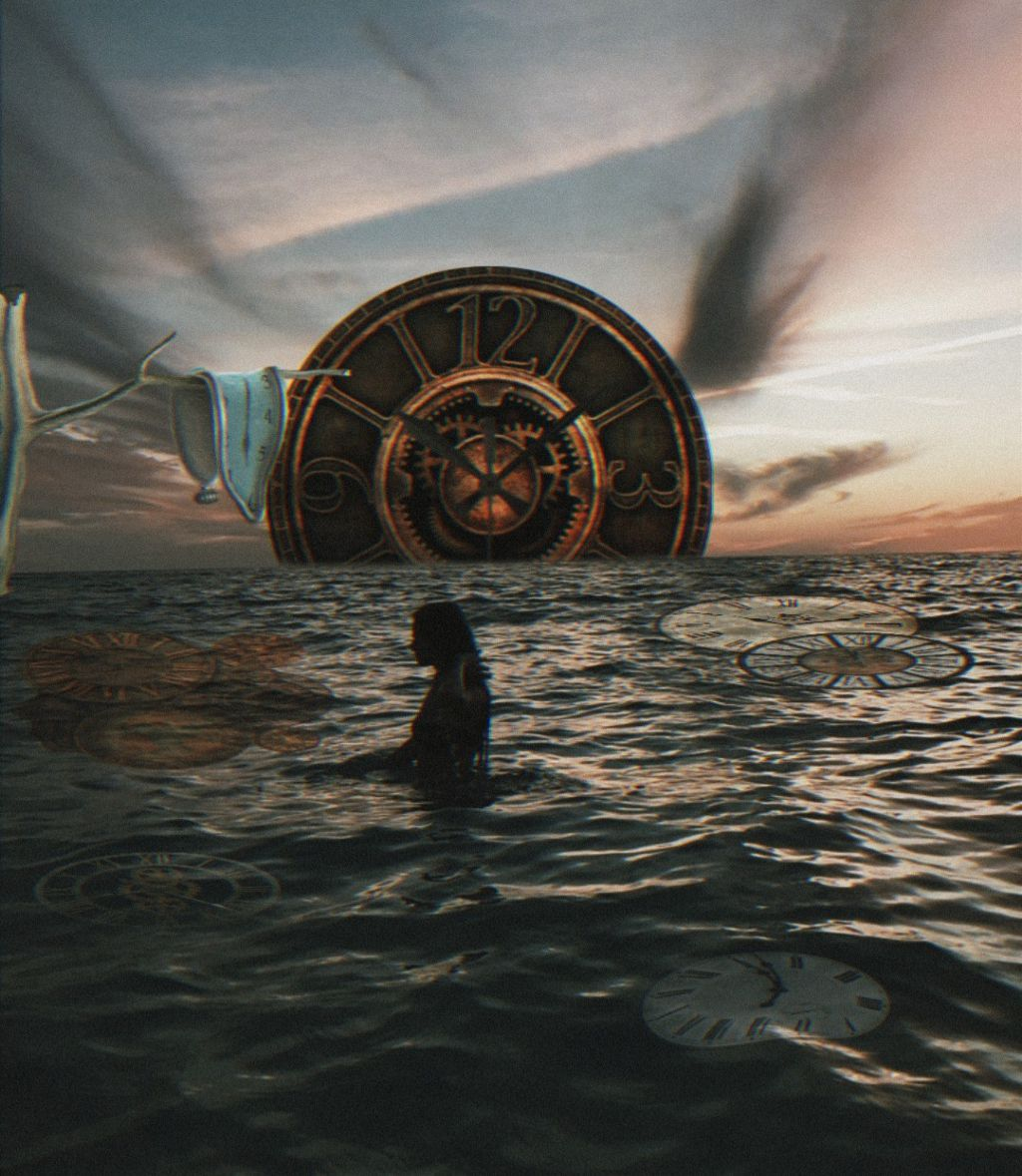 #freetoedit #watch #surreal #clock #myedit #tumblr #girl #woman #cool #weird #like #love #art #photography #photograph #amazing #awesome #makeawesome #picsart #aesthetic #grunge