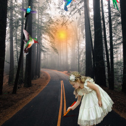 girl fairytale fantasyart imagination madewithpicsart freetoedit