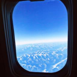 freetoedit travel plane sky mountain pcsnowyslopes pctheblueabove theblueabove