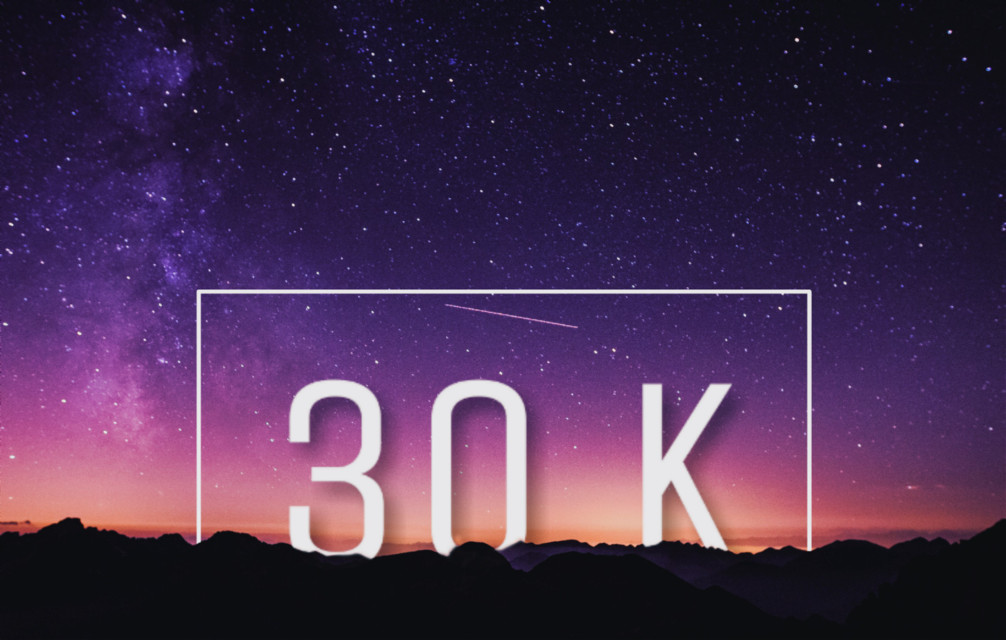 30K! 😊 Thank you!!  #freetoedit #geometric #30k #edited #myedit #text #white #drawingtools #effects