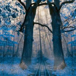 freetoedit mirroreffect hueeffect magical railroad