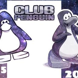 clubpenguin freetoedit evolution galaxy 2005
