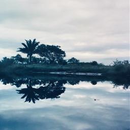 freetoedit sky cloudysky clouds river pcgloomyweather