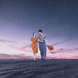 freetoedit inthesky love clouds sky