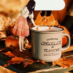 freetoedit tod autumn chocolate surreal