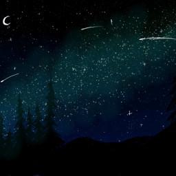 freetoedit bobross forest dcnightforest nightforest