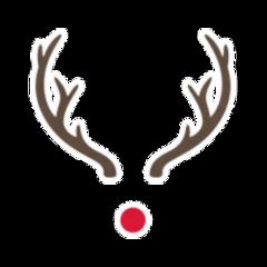 snapchat mask overlay reindeer christmas freetoedit