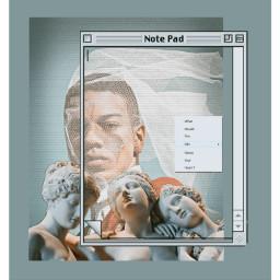 freetoedit fotoart man frame sculpture