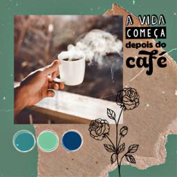 freetoedit coffee collage retro vintage ecbomdia bomdia morning goodmorning