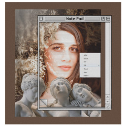 freetoedit art woman sculpture frame