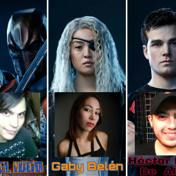 freetoedit deathstroke ravager superboy redvsblue