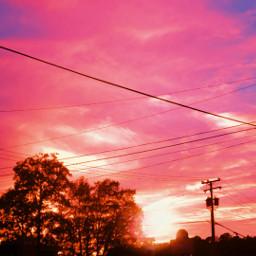 sunset evening rva colorfulsky