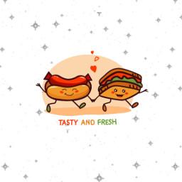 freetoedit scfastfood fastfoodstickers hotdog sandwiches