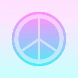freetoedit peace pinkblue myown my