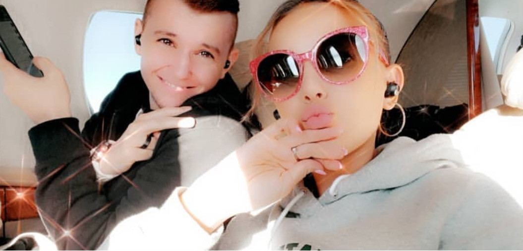 Millie and tyler going to Dallas Texas🤍 #milliebobbybrown #milliebrown #milliebobby #bobbybrown #tylerbrown #tyler #brown
