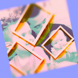photoart frame children father love freetoedit