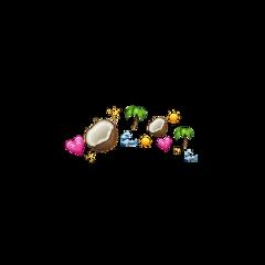 freetoedit crown emoji ring halo