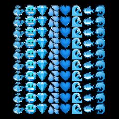 blue aesthetic blueaesthetic theme bluetheme screen freetoedit