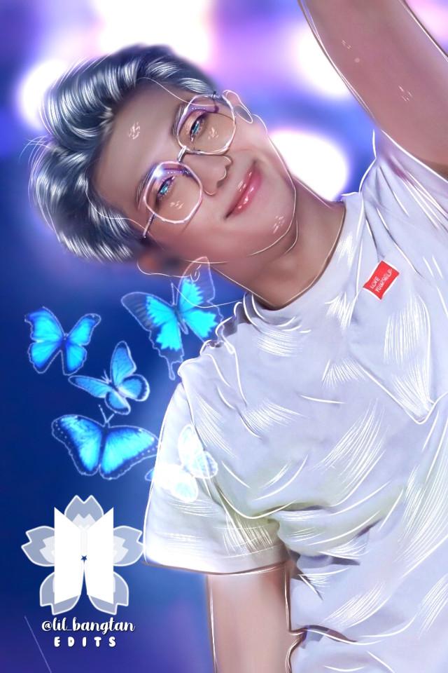 Namjoon manip edit uwu I hope my petals love it ❌DONT STEAL NOR REMIX❌ Watermark made by: @team_wang_owo  #freetoedit