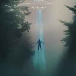 freetoedit ovni abduction fantasy fantasyart ircfoggydays