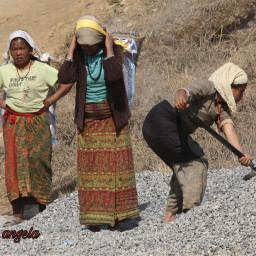 freetoedit work toil women myphoto