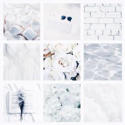 white aesthetic grid aestheticgrid