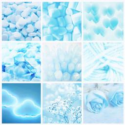 blue aesthetic grid aestheticgrid