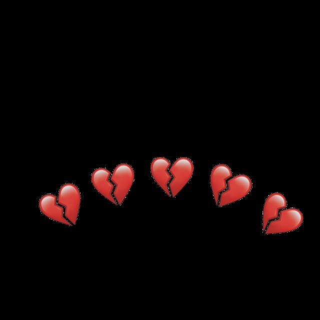Ühü  #brokenheart#heart#crown#red#hearts#aesthetic#OVŞİT #freetoedit